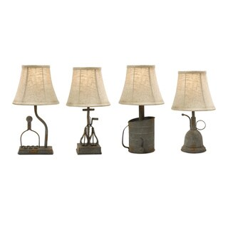 Mayberry Utensil Mini Lamps (Set of 4)