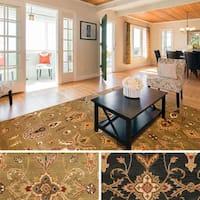 Hand-Tufted Hiromi Oriental Wool Rug (8' x 11') - 8' x 11'
