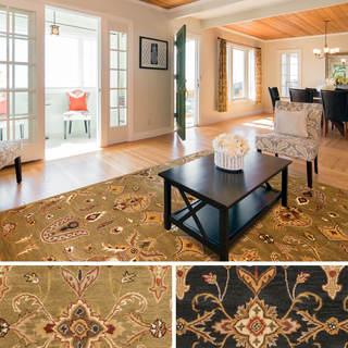 Hand-Tufted Hiromi Oriental Wool Rug (9' x 13')