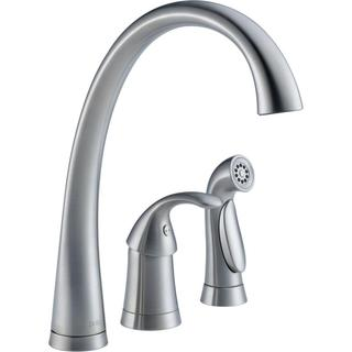 Delta Pilar Single Handle Kitchen Faucet with Spray