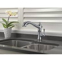 Delta Cassidy Single Handle Pull-Out Kitchen Faucet 4197-AR-DST Arctic Stainless