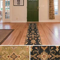 Hand-Tufted Hiromi Oriental Wool Area Rug - 2'3 x 10'