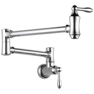 Delta Traditional Wall Mount Pot Filler 1177LF Chrome