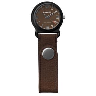 Dakota Men's Brown Leather Snap Fob Watch|https://ak1.ostkcdn.com/images/products/9540589/P16719233.jpg?impolicy=medium