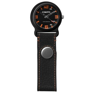 Men's Dakota Black/Orange Leather Snap Fob Watch|https://ak1.ostkcdn.com/images/products/9540594/P16719332.jpg?_ostk_perf_=percv&impolicy=medium