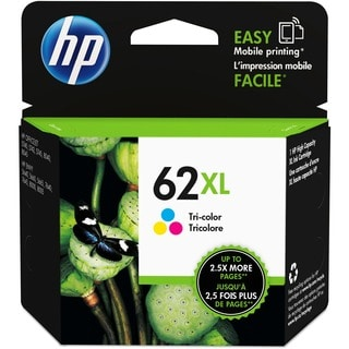 HP 62XL Original Ink Cartridge - Tri-color