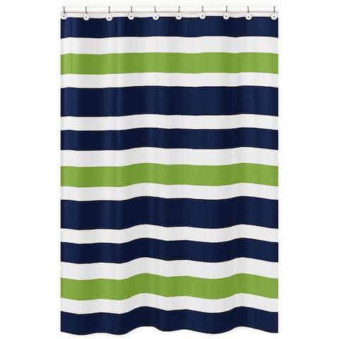 Sweet Jojo Stripes Shower Curtain