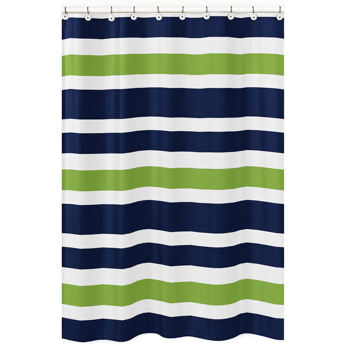 Sweet Jojo Stripes Shower Curtain