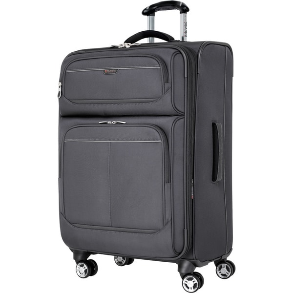 080f8b696 Ricardo Beverly Hills Mar Vista Solid 24-inch Expandable Spinner Upright  Suitcase