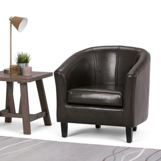 WYNDENHALL Parker 30 inch Wide Transitional Tub Chair - 30 inch Wide