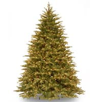 Nordic Spruce Hinged Tree with 1000 Clear Lights