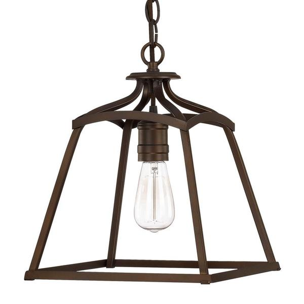 Capital Lighting Transitional 1 Light Burnished Bronze