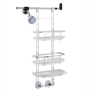 Zenith Make-A-Space Stainless Steel Shower Caddy