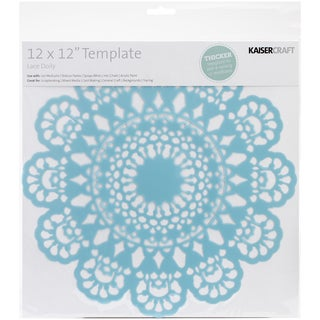 "Template 12""X12""-Lace Doily"