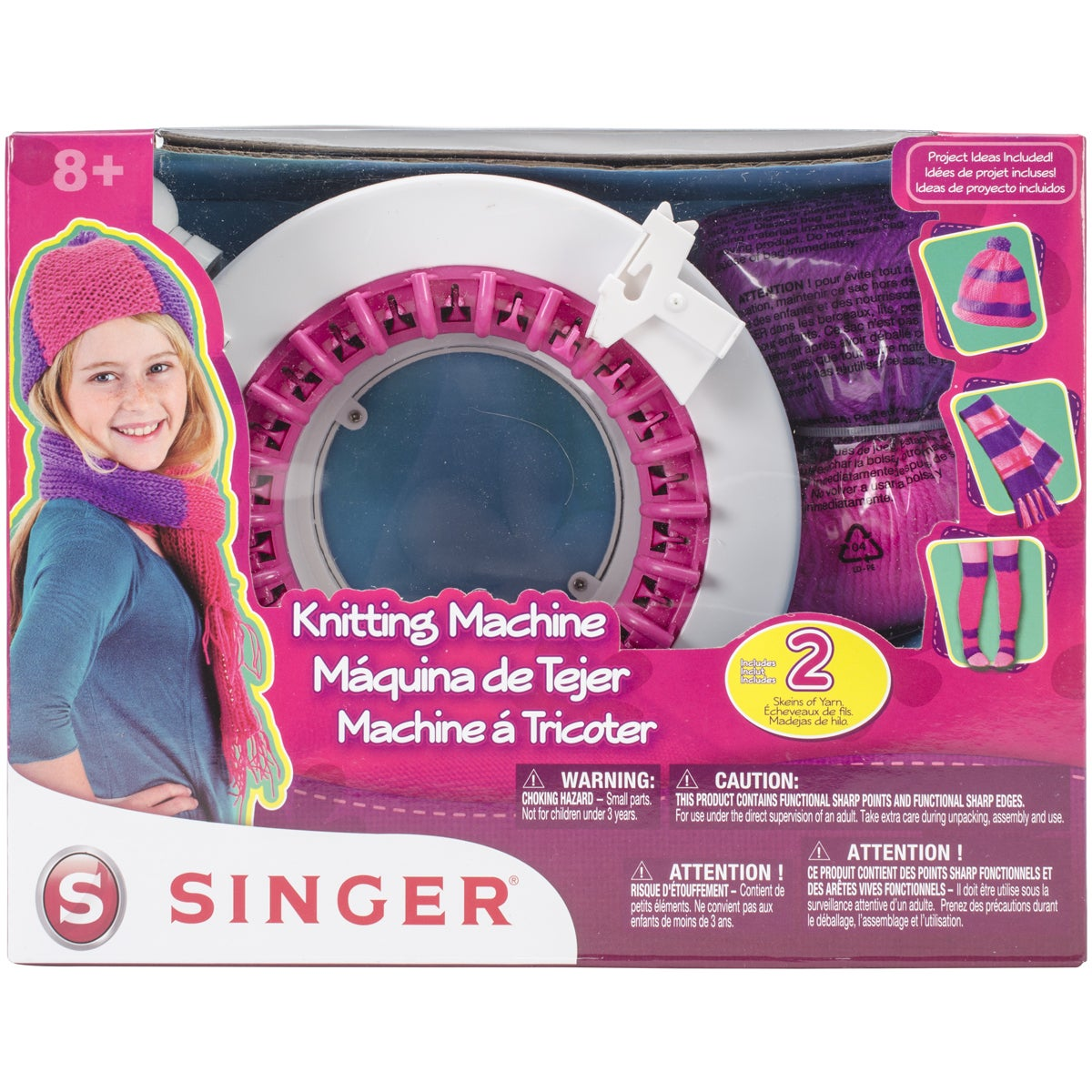 SINGER SEWING CO. A2712 Knitting Machine (Ages 8 +) (knit...