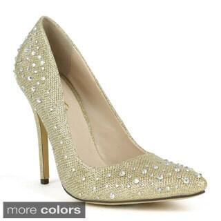 Celeste Women's 'Tanya-02' Single Sole Pointed-toe Dress Pumps