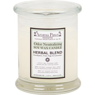 Aroma Paws 12 oz. Odor Neutralizing Soy Wax Candle