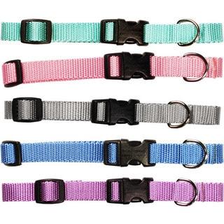 Pastel Collection Adjustable Nylon Pet Collar