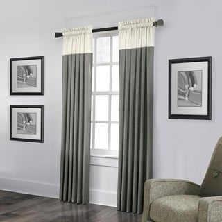 Grand Luxe 100-percent Linen Monterey Rod Pocket Curtain Panel