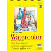 Strathmore Watercolor Paper Pad 11X15-140lb Cold Press 12 Sheets