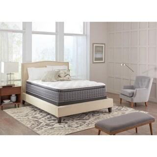 Spring Air Premium Collection Noelle Pillow Top Full-size Mattress Set - White