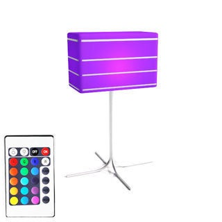 Contempo Lights LuminArt Bellagio Color-changing Rechargeable Table Lamp