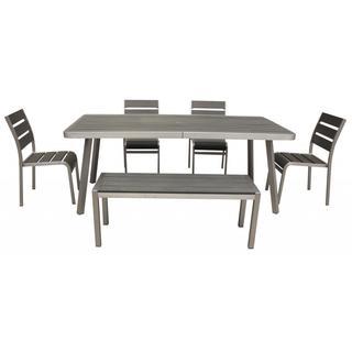 Polylumber 6-piece Brava Dining Set