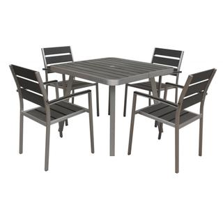 Canaria 5-piece Polylumber Outdoor Dining Set