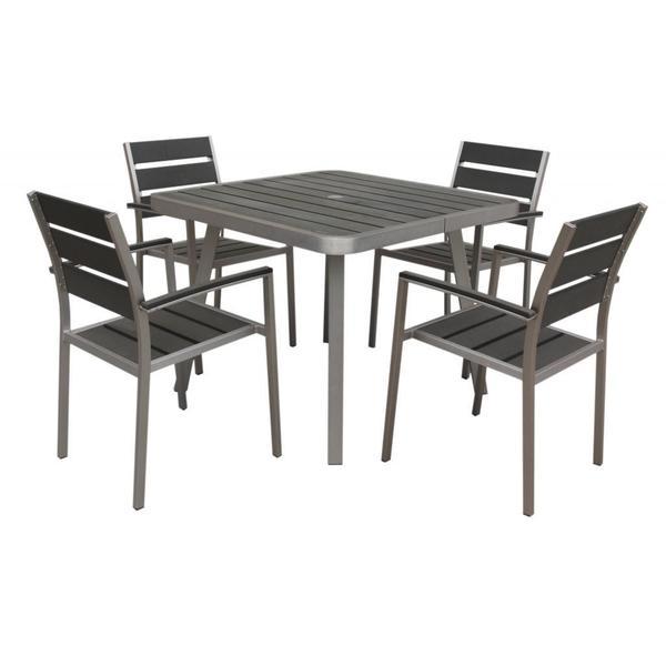 Canaria 5-piece Polylumber Outdoor Dining Set