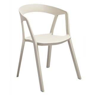 Anton Beige Stackable Accent Chair (Set of 2)