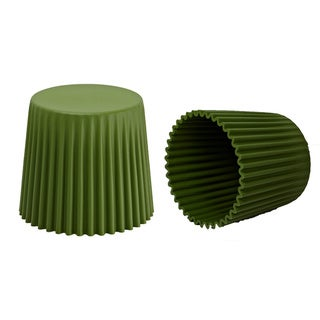 Sammy Tarmac Stackable Stool (Set of 2)
