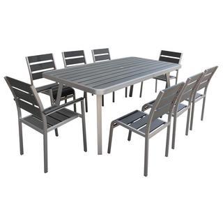Polylumber 9-Piece Santorini Dining Set