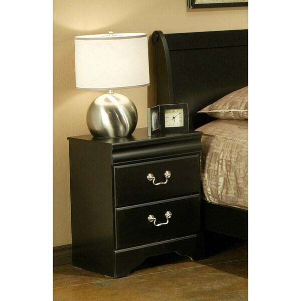 Sandberg Furniture Regency Bedroom Set: Sandberg Furniture Regency 2-drawer Nightstand