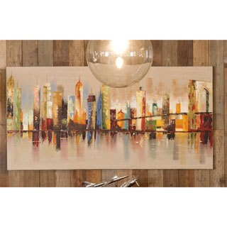 Aurelle Home Cityscape Abstract Wall Art