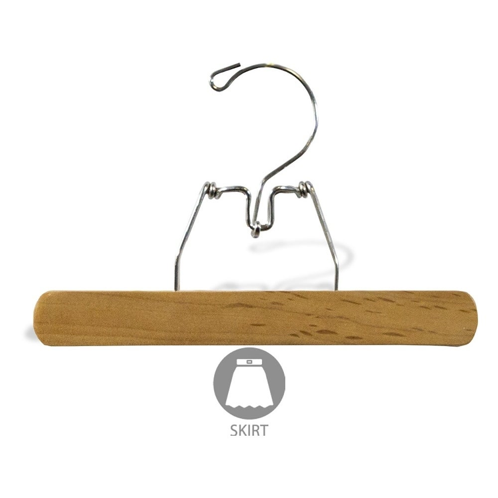 The Great American Hanger Company Black Wood Top Hanger Box of 50 Space Saving 17 Inch Flat Wooden Hangers w//Chrome Swivel Hook /& Notches for Shirt Jacket or Dress