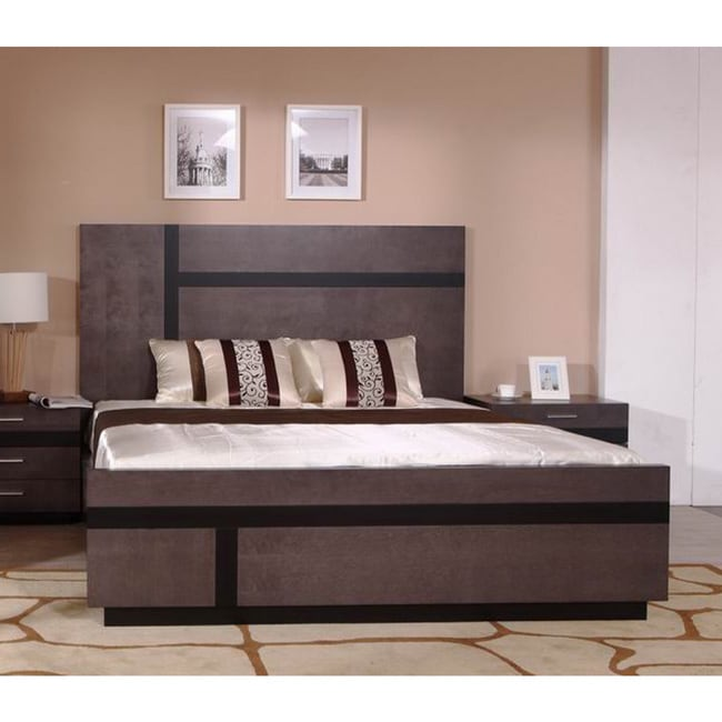Kendall Bed (Kendall E. King Size Bed), Black