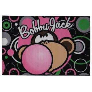 Bobby Jack Multi-color Nylon Accent Area Rug (1'6 x 2'4)