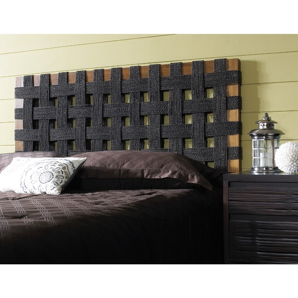 seagrass open weave headboard  free shipping today  overstock, Headboard designs