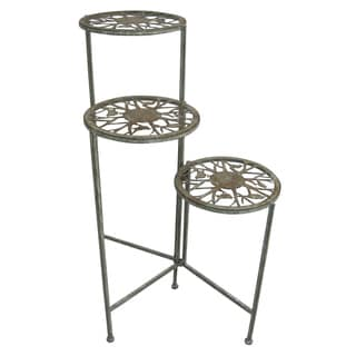 Metal 3-tier Plant Stand