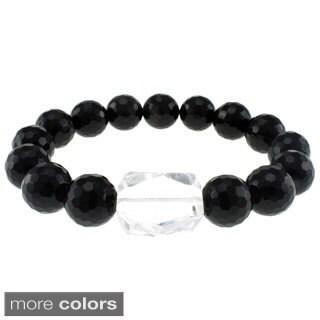 Pearlz Ocean White Quartz Stretch Bracelet