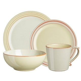Denby Heritage Veranda Yellow 4-piece Place Setting