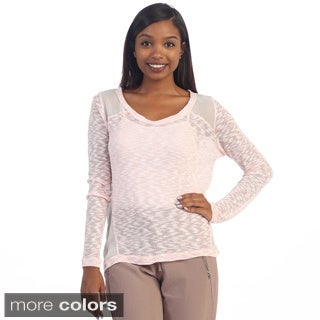Hadari Women's Sheer Knit Top