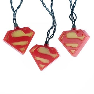 Kurt Adler 10-light Superman Light Set