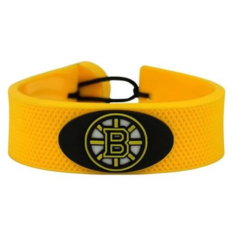 NHL Hockey Sports Team Logo Gamewear Leather Bracelet