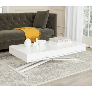 Safavieh Radford White Adjustable Desk