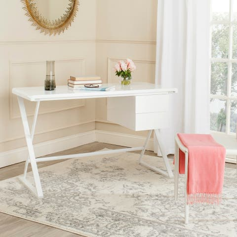 Safavieh Modern Watkins White Desk