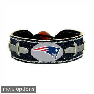 NFL Football Sports Team Logo Gamewear Leather Bracelet