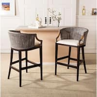 Safavieh Rural Woven Dining 28-inch Brando Brown Bar Stool