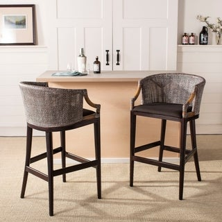 Safavieh Brando Brown 28-inch Bar Stool