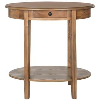 Safavieh Monica Oak Oval End Table
